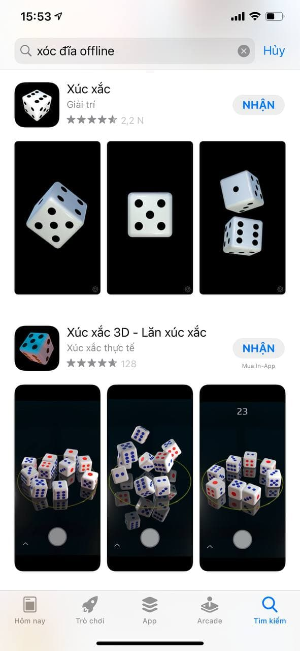 tai game xoc dia offline tren iphone - ios moi nhat