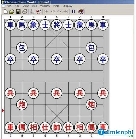 game co tuong tren may tinh chinese-chess-world