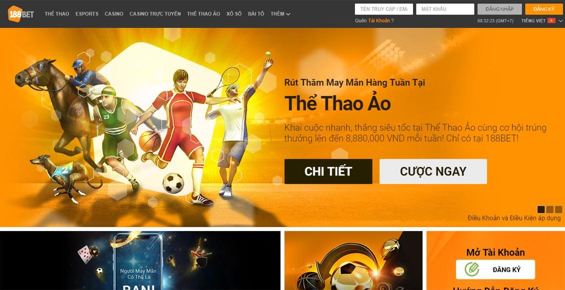 the thao 188bet
